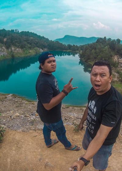 Ada Danau Biru yang Jadi Pesona Tempat Wisata di Sawahlunto