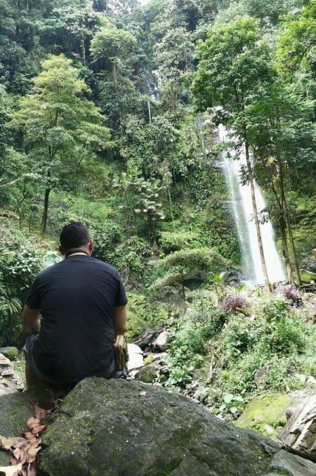 air terjun batang nango tempat wisata di pasaman barat