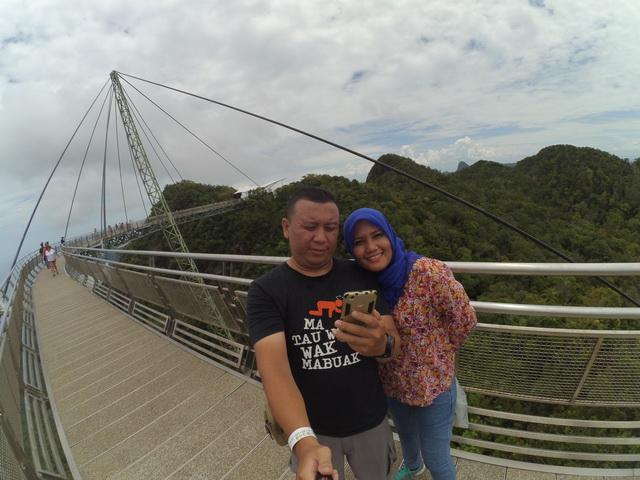 langkawi sky bridge - liburan ke langkawi