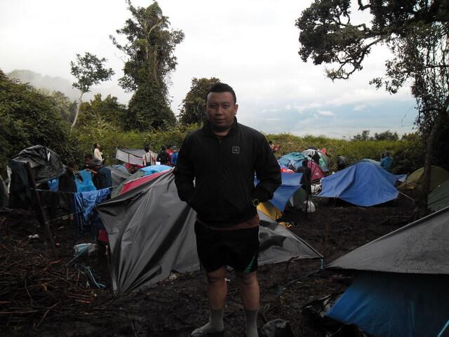 bermalam di shelter 1 gunung kerinci