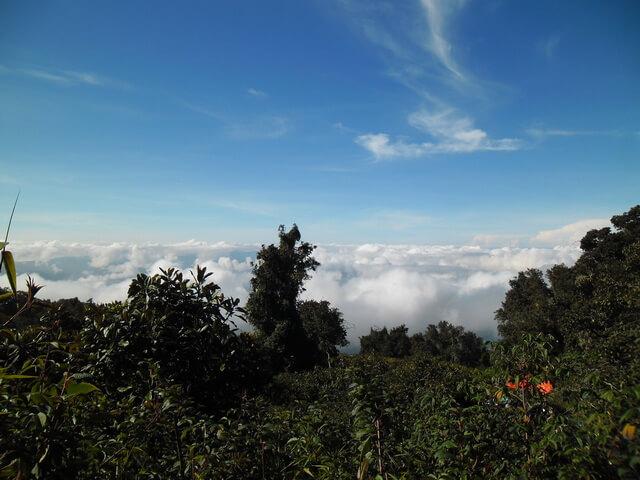 gumpalan awan shelter 1 gunung kerinci